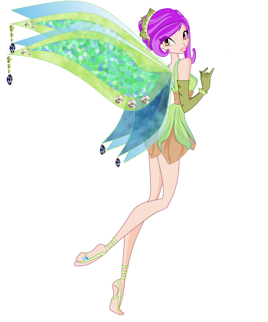 Alicia Enchantix Wings Contest Entry With Base By Mermaid
