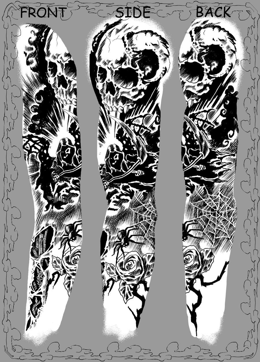 Daimons  Tattoo by Sami06