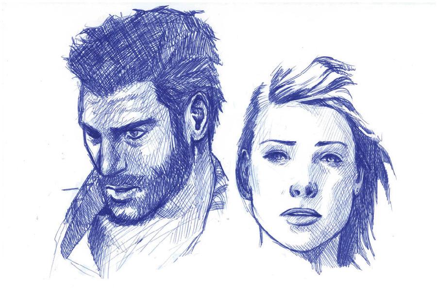 ballpoint sketch by Sami06