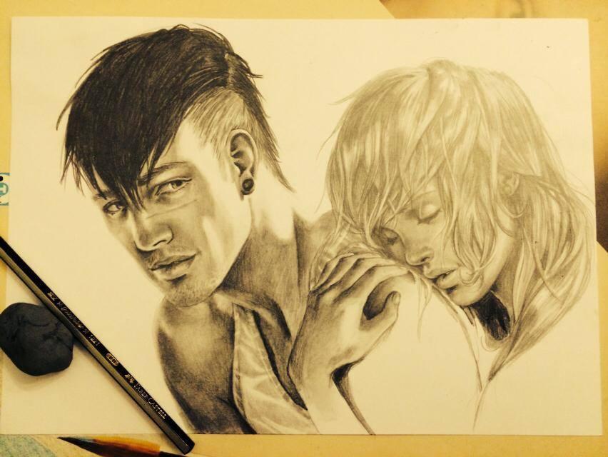 Hug you WIP2 by Sami06