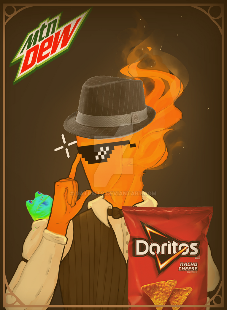 Grillby by Gatusito