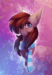 Pone Painting by Tuzz-Arts