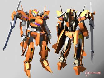 Gundam Throne Zwei by Infinity238