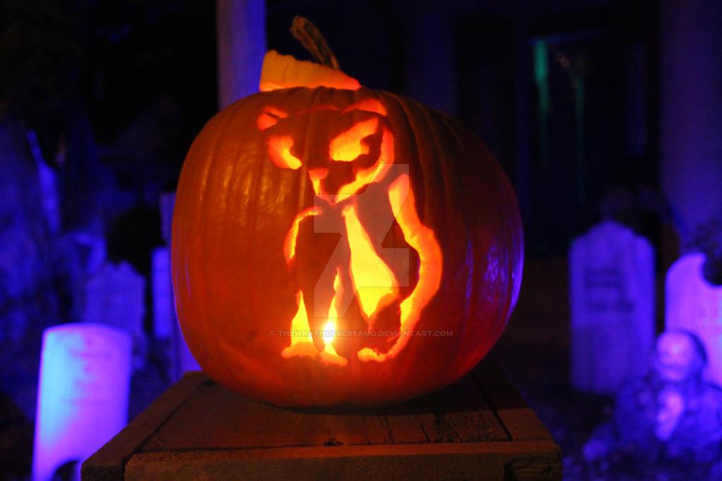 Pumpkin Carving 1 By Thewrathofscreamo On Deviantart