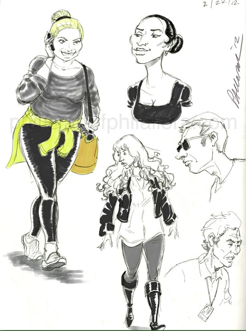 Sketchbook Page by PAllora