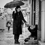 The Rain Beggar by aR-Ka