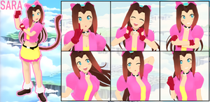 [MMD] Sara from Sonic OVA Model Download by sailorash