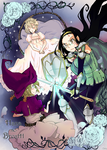 The Princess, the Witch and the Knight girl
