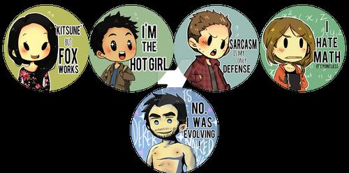 Teen Wolf Buttons 2015