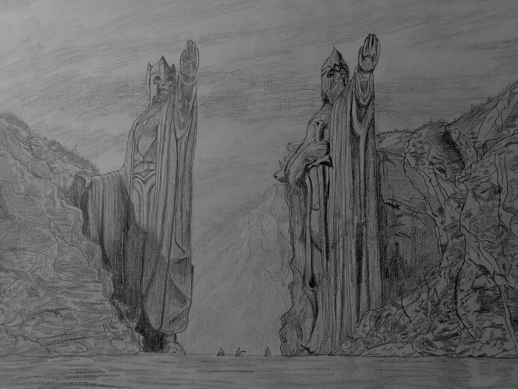 Lord of the Rings images Argonath HD wallpaper and background ...