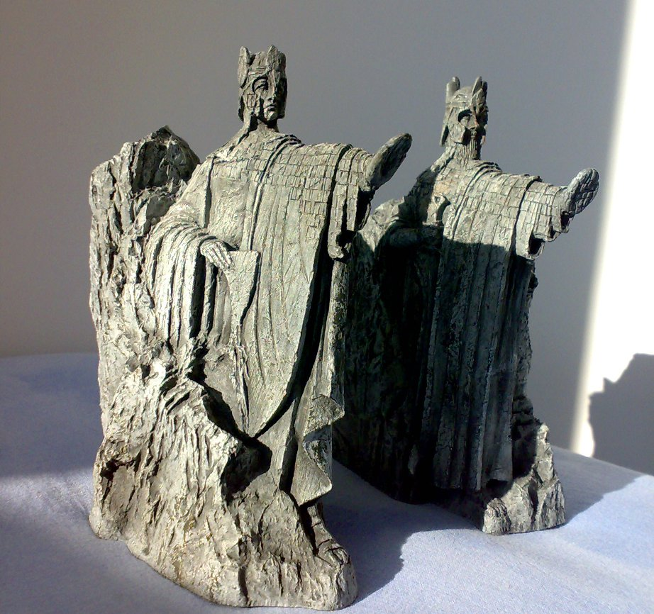 Teen diy february 2015 - Lord of the rings bookends ...