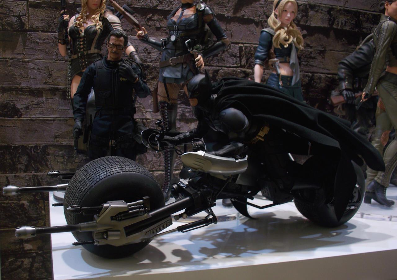 The dark knight batpod toy - photo#6