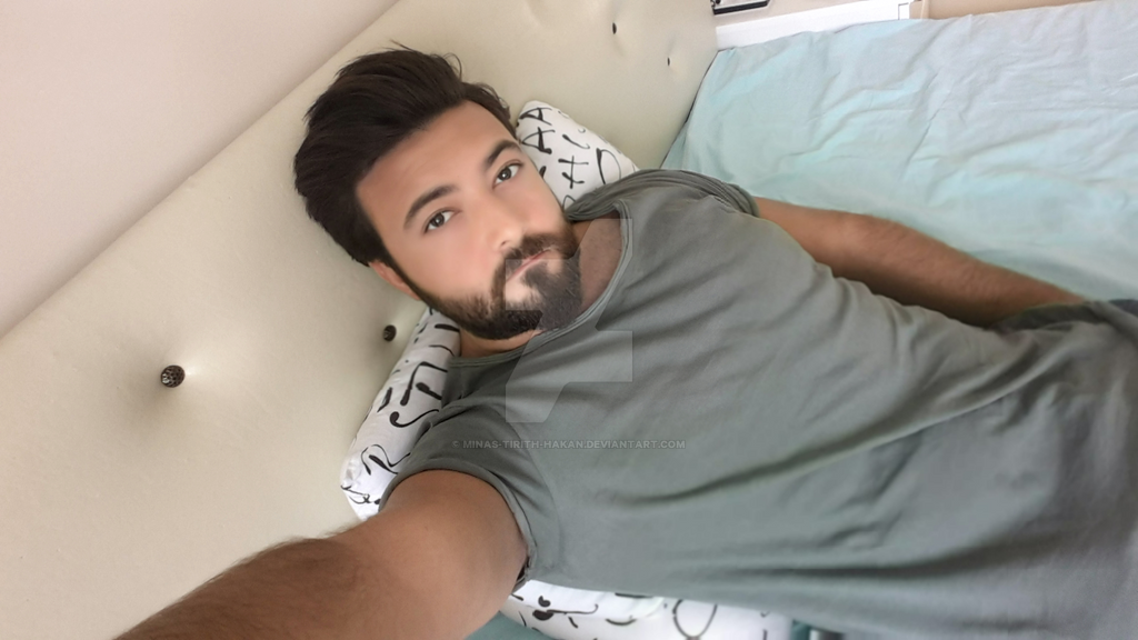 Me selfie by Minas-Tirith-Hakan