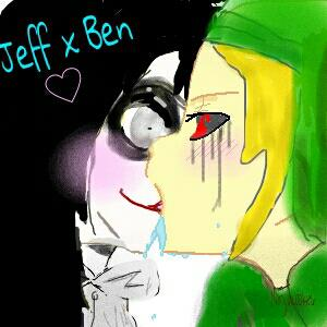 Ben drowned and jeff the killer yaoi jeff x ben by ninjacookie6