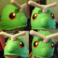 Caterpie Hat by VIcTobious
