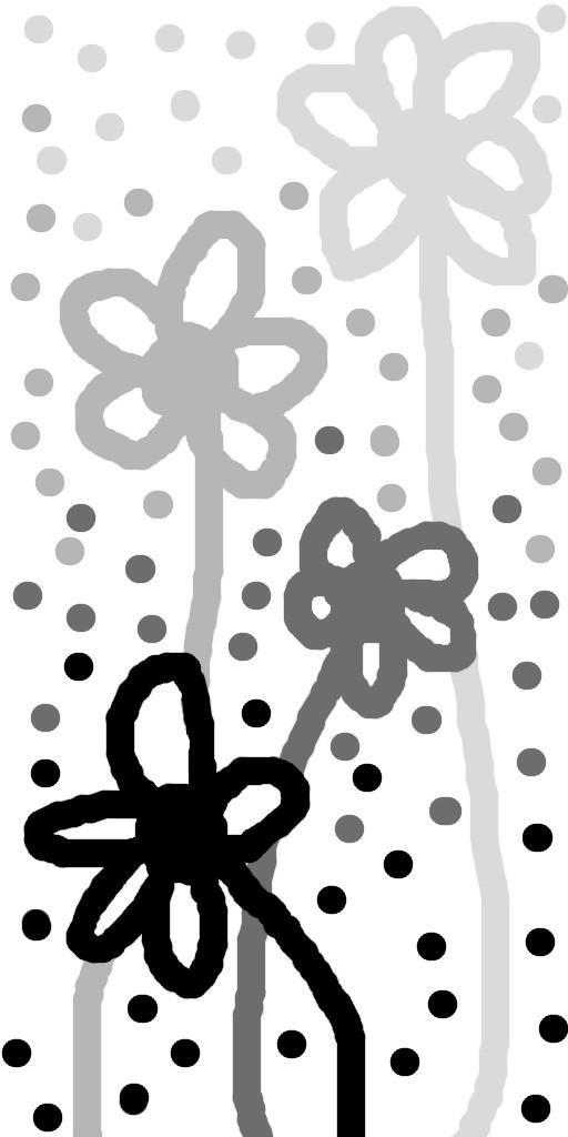 Fleurs noir et blanc by ewokette on deviantart Fleur noir et blanc