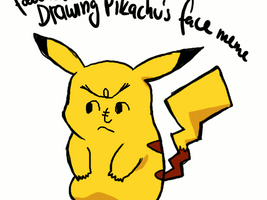 Drawing Pikachu's Face Meme by Ewokette