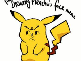Drawing Pikachu's Face Meme by Ewokette