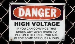 Funny sign I found by Deltatucker