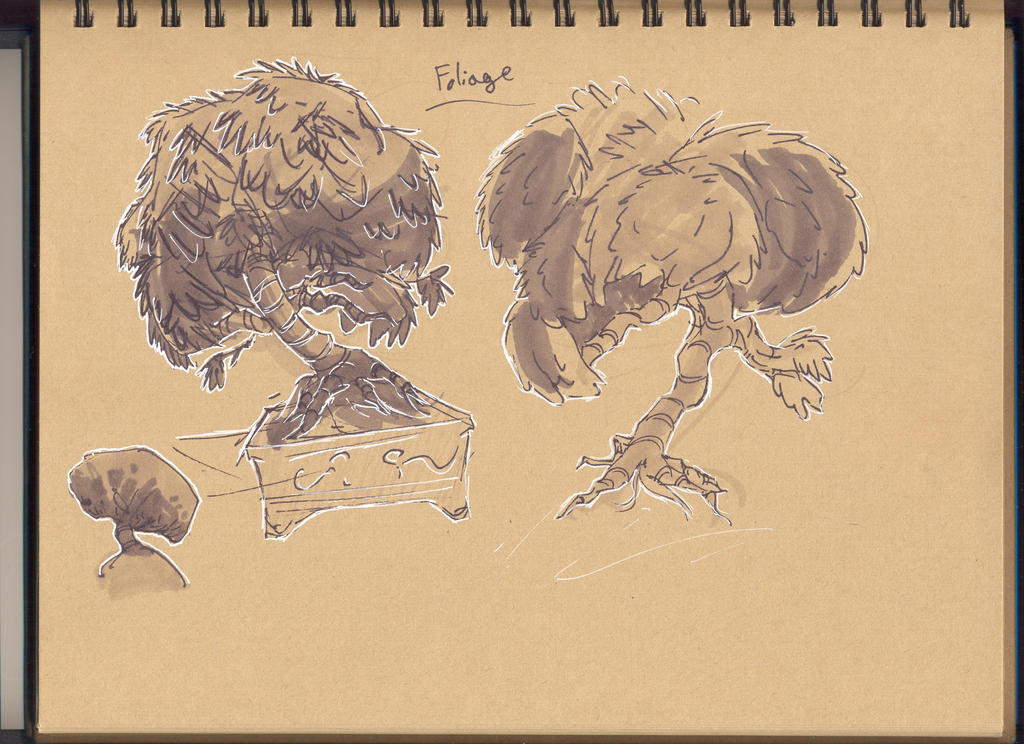 Trees Sketches by Whibbleton