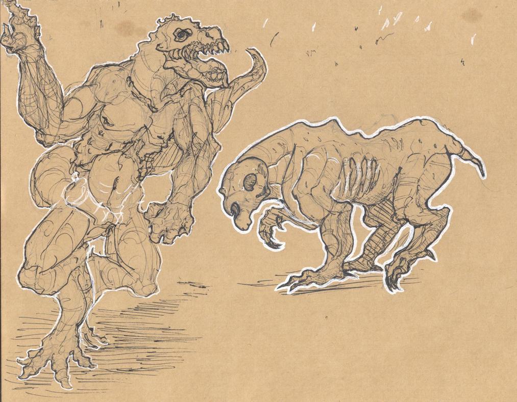 Hellhound remake by Whibbleton