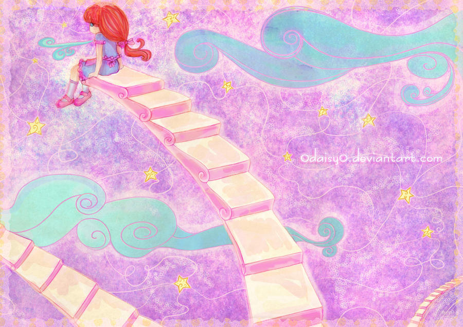 Starry Path by 0Daisy0