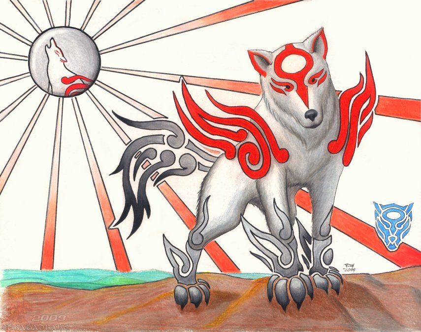 Okami Canor by Stratadrake
