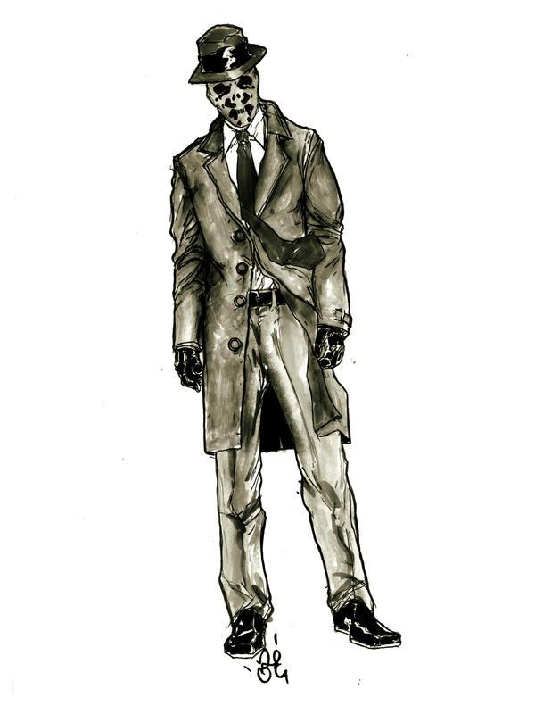 """Rorschach """"hurm"""" by zeruch"""