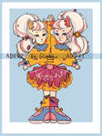 Adopt sisters auction open by GleenLu