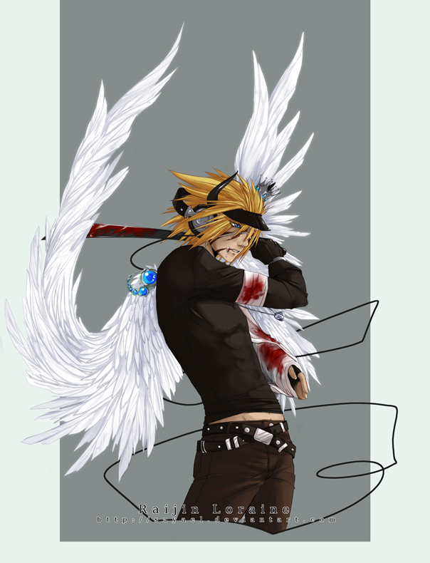 GaiaOnline - Wounded Angel by Sayael