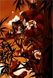 Original - Lazy Red Panda