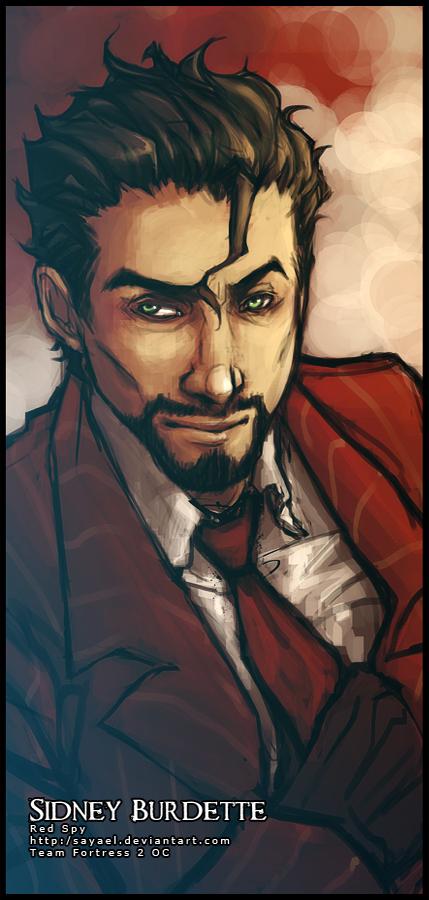 Tf2 Red Spy Sidney By Sayael On Deviantart