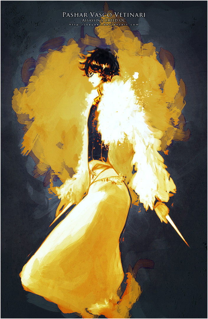 Assassins Creed - Yellow Glow by Sayael