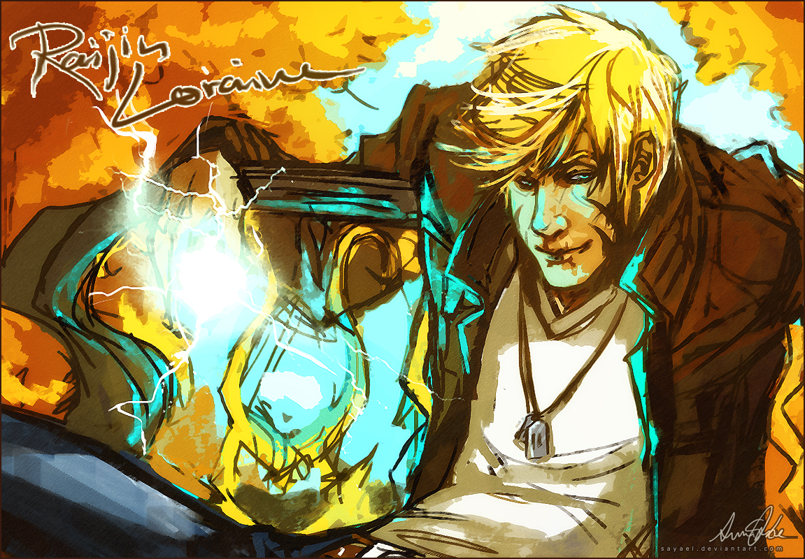 Original - Autumn Thunder by Sayael