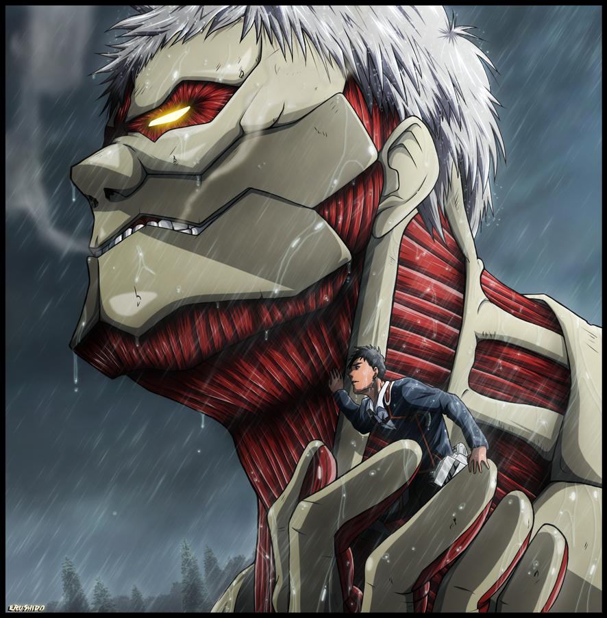 Reiner titan by Erushido on DeviantArt