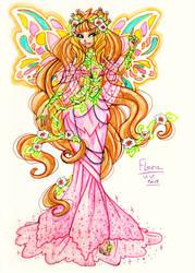 Flora Mahaanix by VivienVaider