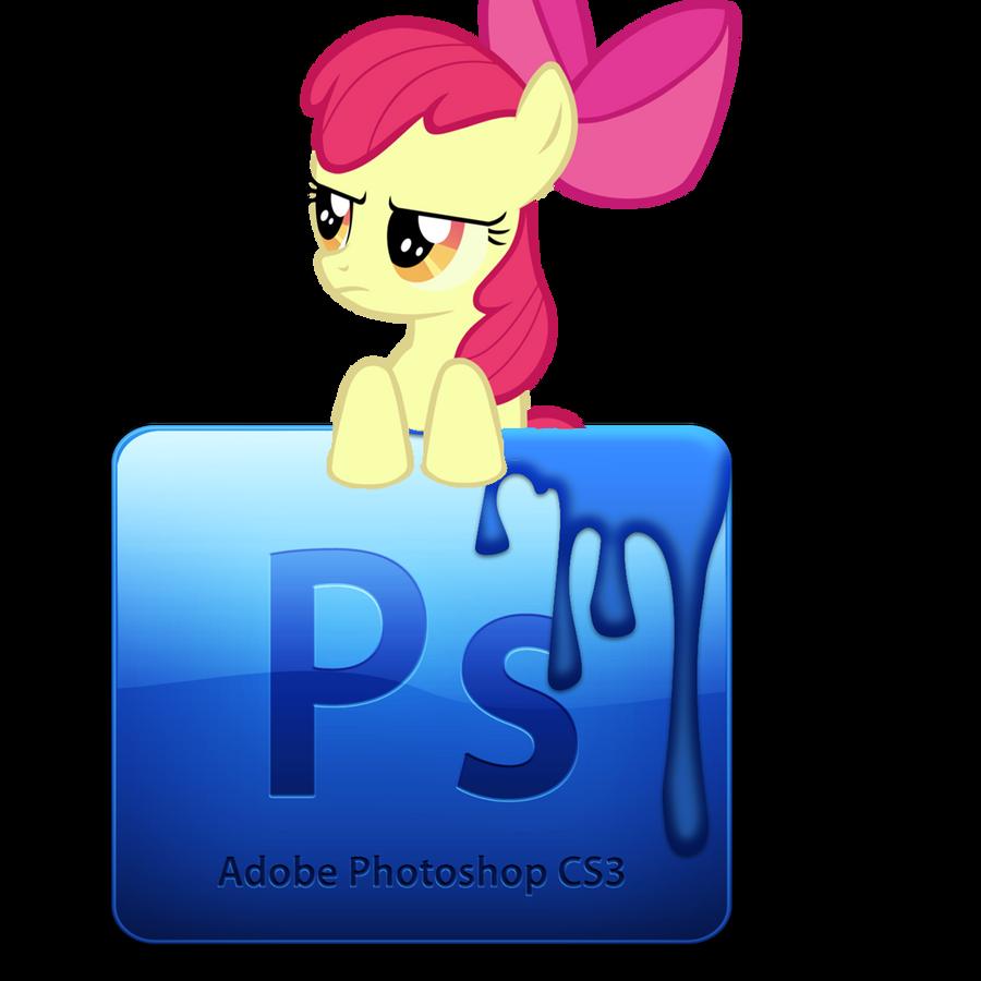 MLP logo-Adobe Photoshop CS3