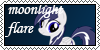 Moonlight  Flare spamp by Golden-fly