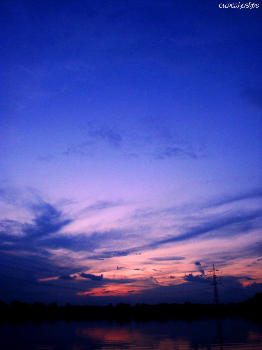 dark blue sky with - photo #10