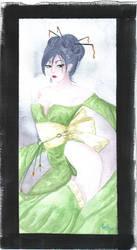 Geisha Watercolor