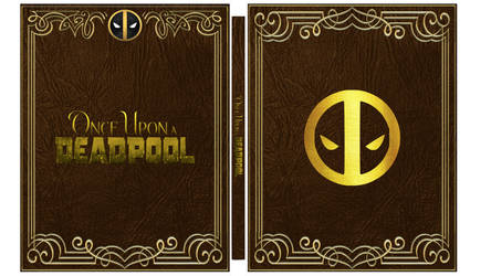 Once Upon a Deadpool Steelbook Cover