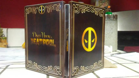 Once Upon a Deadpool Steelbook Exterior