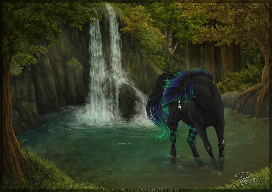 Deviantarts Robot Horse: Dreams-Horses (Robin Bronkhorst)