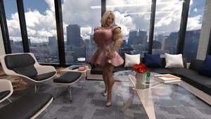 Wren pink dress