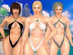 Mature Tekken Ladies by Sitdownpurrbomb42