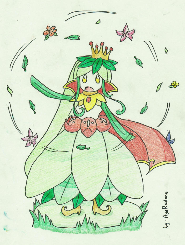 Mega Lilligant by AyaRoulane on DeviantArt