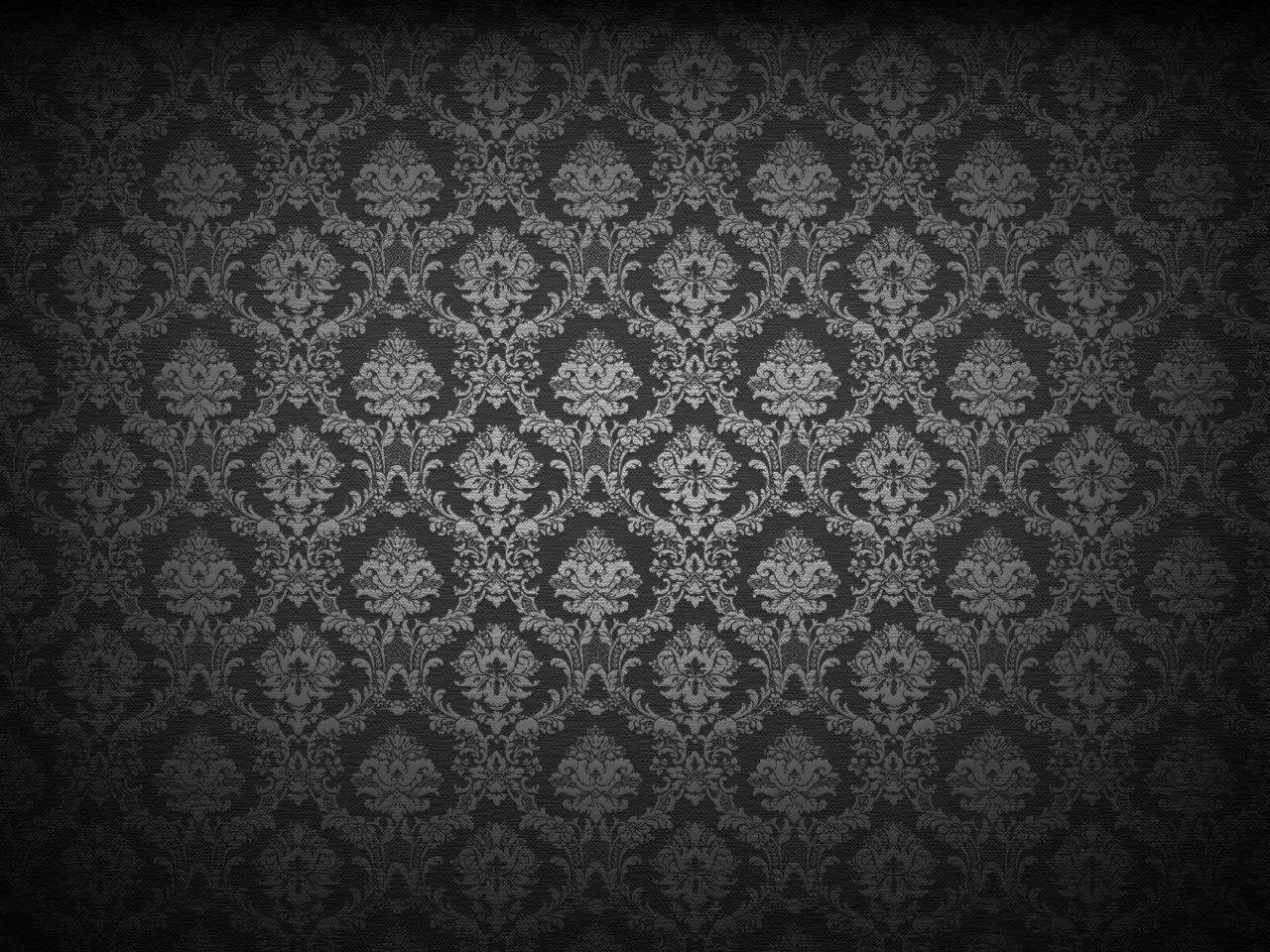 Black Damask High Resolution