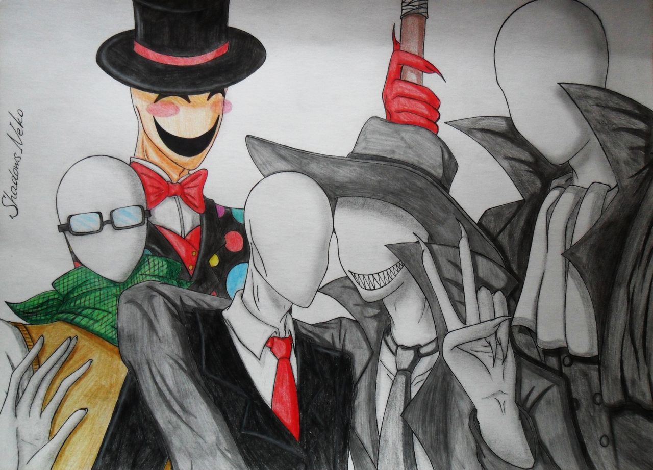 Slenderman And Trenderman We Are Family by Shado...