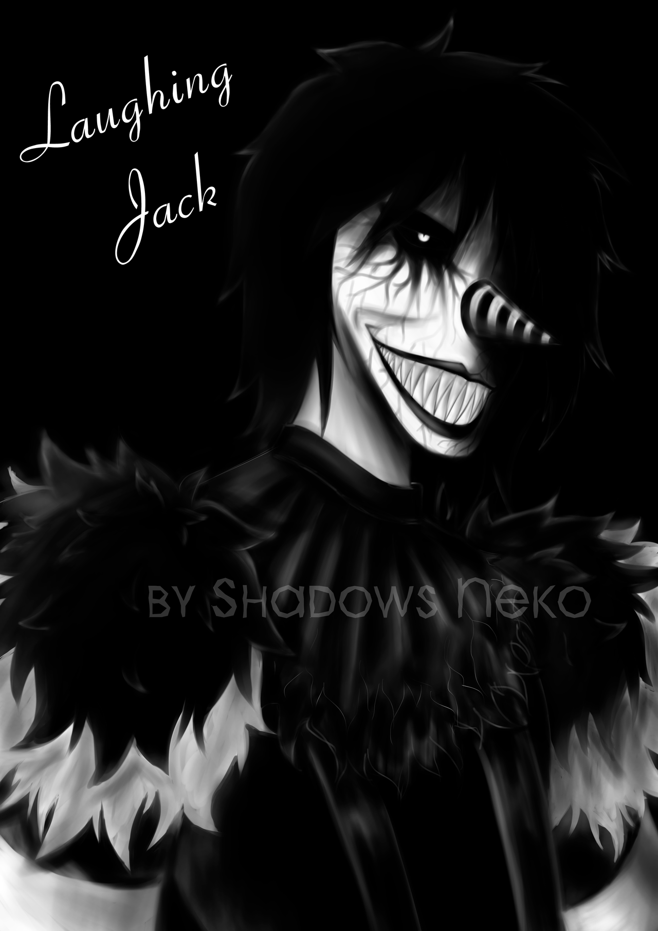 Creepy Laughing Jack by ShadowsNeko