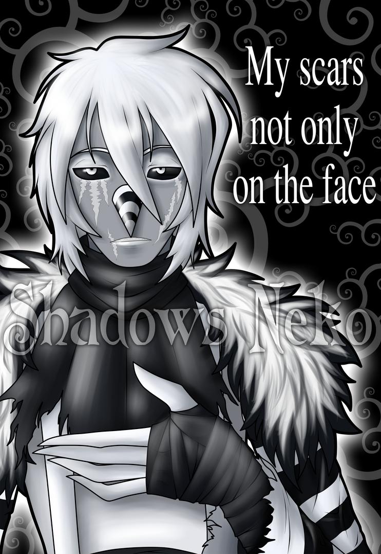 Negative LJ: My scars not only on the face by ShadowsNeko